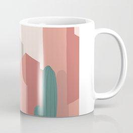 Ricardo Bofill cactus affiche poster graphic design architecture minimalist  Coffee Mug