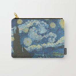 Swirly Night Carry-All Pouch