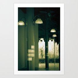 lights.. Art Print