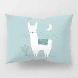 Alpaca In The Mountains Pillow Sham