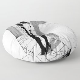 asc 871 - Le Sphinx (The answer that opens the gate) Floor Pillow