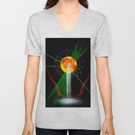 Light and water Unisex V-Neck