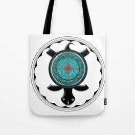 Onyx Turtle Tote Bag
