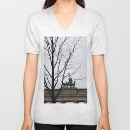 From Berlin with love Unisex V-Neck