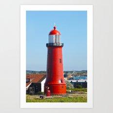 Newcastle Lighthouse  Art Print