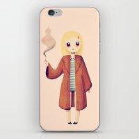 tenenbaums iPhone & iPod Skins featuring Margot by Nan Lawson