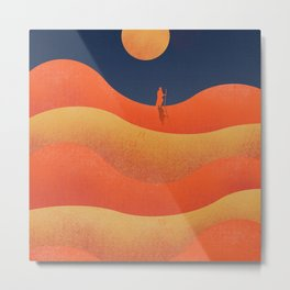 Lawrence of Arabia, vintage movie poster, David Lean, Peter O'Toole, Anthony Quinn, Omar Sharif Metal Print