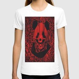 Red Gangsta Panda T-shirt