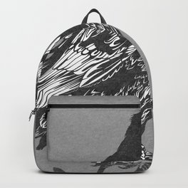 Raven Grey Backpack