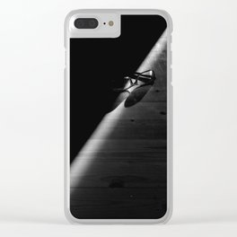 Ray of light Clear iPhone Case