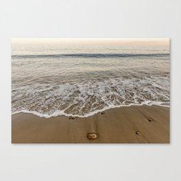 Sunset at Pebble Beach 7-18-18 Canvas Print