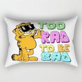 Too Rad to be Sad Garfield the Cat Rectangular Pillow