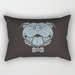 LARPBO Bully Head Rectangular Pillow