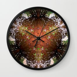 A Call For Calm No 1 Wall Clock