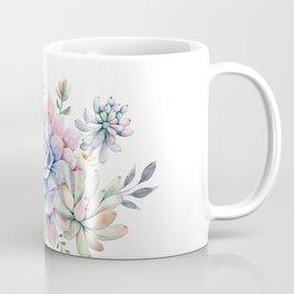 succulent watercolor 1 Coffee Mug