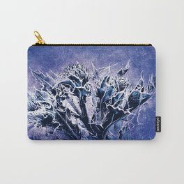 Thistle and Weeds_deep purple Carry-All Pouch