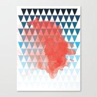 berlin Canvas Prints featuring Berlin by Menina Lisboa