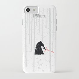 The Force Awakens - Blizzard iPhone Case