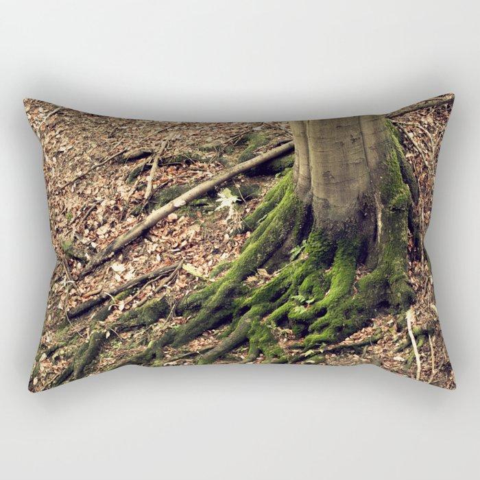 green moss Rectangular Pillow