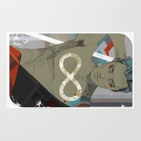 infinity Area & Throw Rugs featuring Infinity by Cassandra Jean