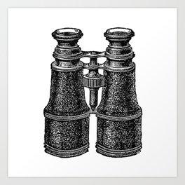 Binoculars 2 Art Print