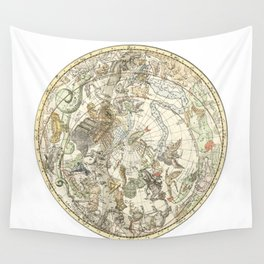 Zodiac Constellation - Southern Sky Wall Tapestry