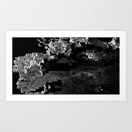 Cellular Automata 01 Art Print