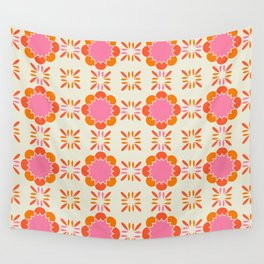 Sixties Tile Wall Tapestry