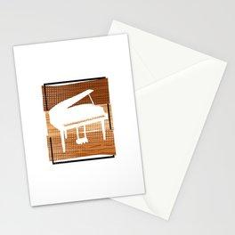 Piano  TShirt Music Instrument Shirt Musician Gift Idea Stationery Cards