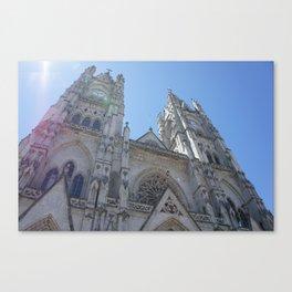 Basilica del Voto Nacional Canvas Print