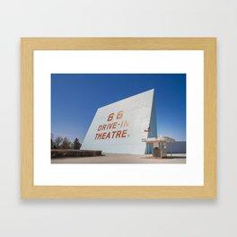 Movie Time Framed Art Print