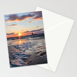 Sunset | The Point at Cape Henlopen State Park - Lewes, Delaware Stationery Cards