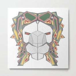michael lion Metal Print