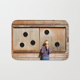 Curious Girl Bath Mat