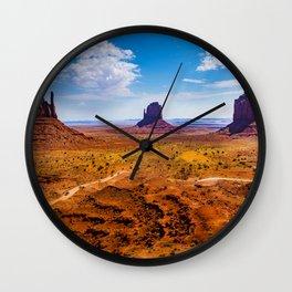 Monument Valley Utah Wall Clock