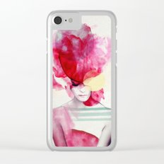 Bright Pink - Part 2 Clear iPhone Case