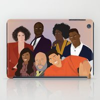 fresh prince iPad Cases featuring The Fresh Prince by Jara Montez
