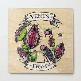 Venus' Trap Metal Print