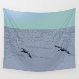 Gliding Trio Wall Tapestry