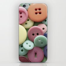 Buttons, Buttons, Galore iPhone & iPod Skin
