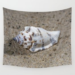 spotted sea snail shell Wall Tapestry