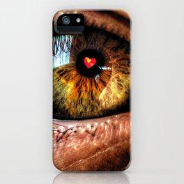 Eye see Love iPhone Case