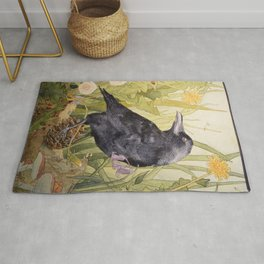 Canuck the Crow Rug
