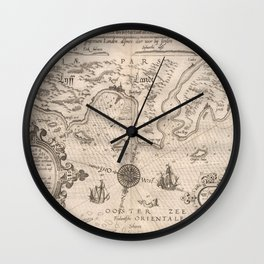Livonia 1584 Wall Clock