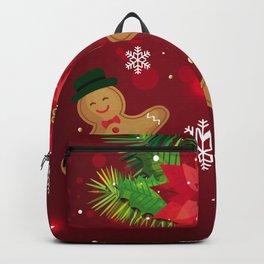 gingerbread man cookies Backpack