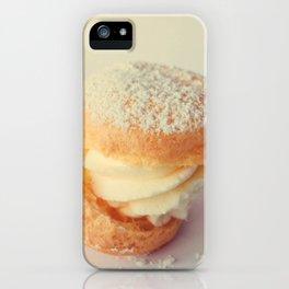Cream Puff iPhone Case