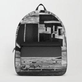 Derelict Shack in Apple Valley. Backpack