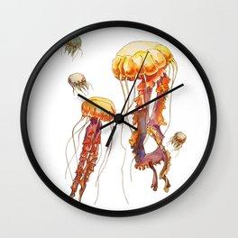 world of jellyfish Wall Clock
