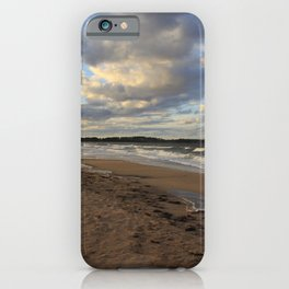 Dark Skies And Sea  -  Photography iPhone Case