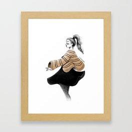 onform sketch Framed Art Print